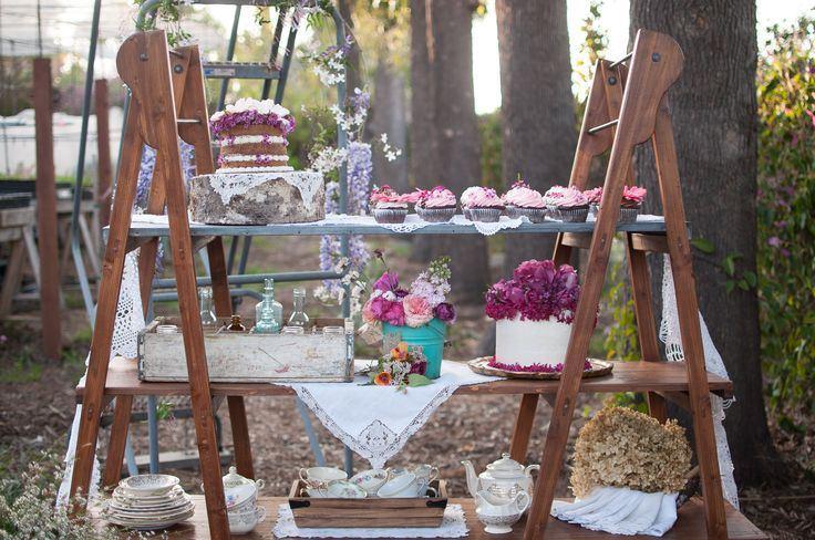 Escaleras de madera, un elemento imprescindible para tu boda