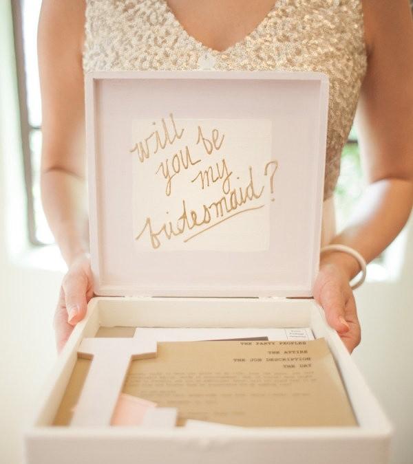 6 regalos creativos para tus damas de honor ethereality for Ideas para regalos de boda