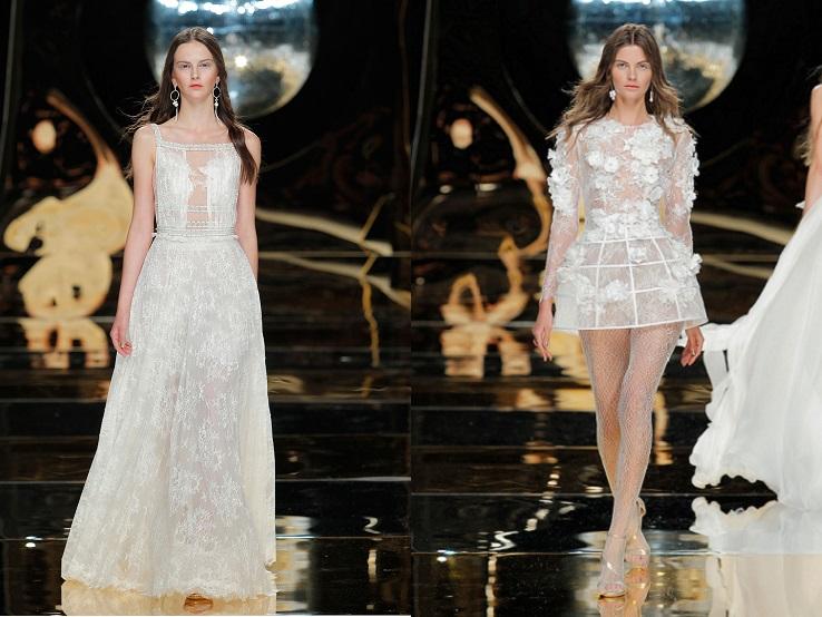 Yolan Cris, espectáculo sobre la Barcelona Bridal Week