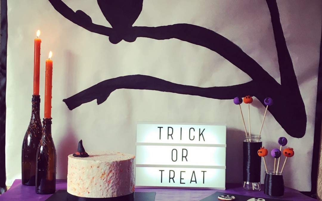 Aprende a decorar tu mesa de Halloween
