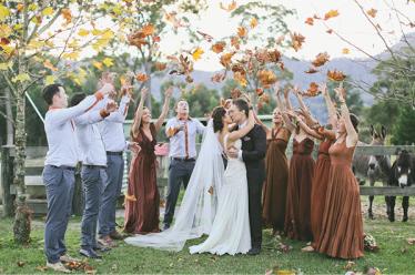 Las 8 ventajas de celebrar una boda en Otoño