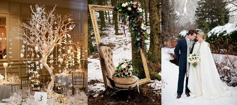 Baby it's cold outside: Ideas únicas para una boda de invierno