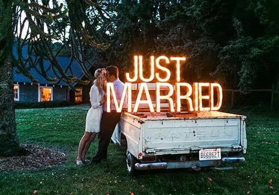 Letras Luminosas para decorar tu boda