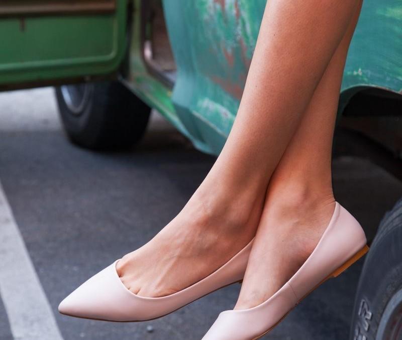 ¿quién dijo que los zapatos planos restan estilo?