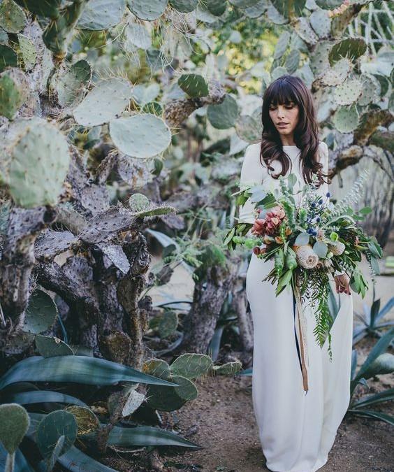 Nueva tendencia: Decora tu boda con cactus