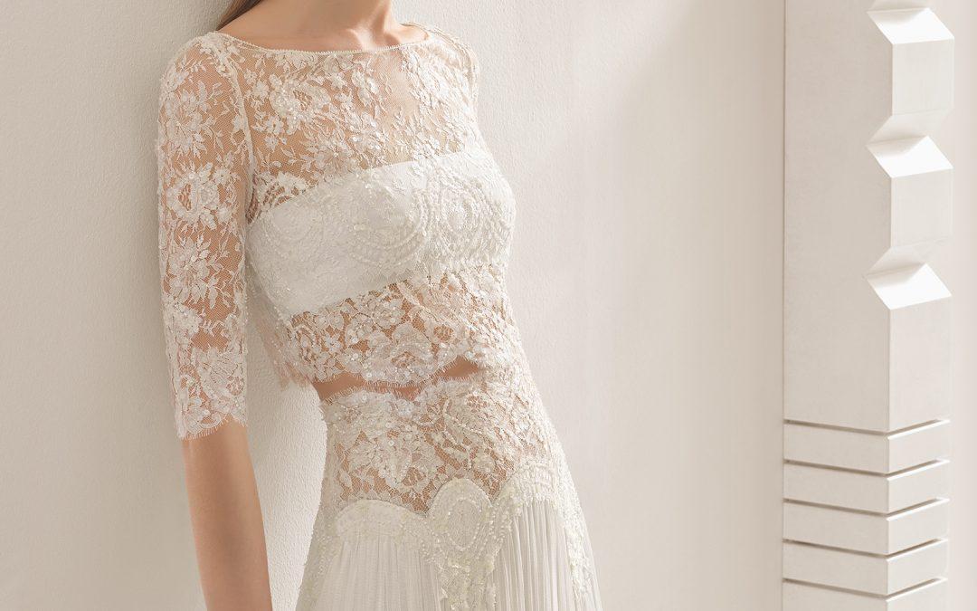 Las tendencias en vestidos de novia que no te puedes perder